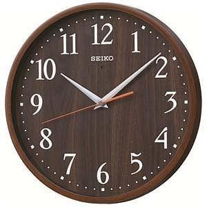 セイコー 電波掛け時計「ナチュラルスタイル」 KX399B...