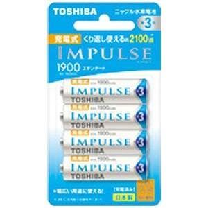 東芝 単三充電池 TNH3ME4P|y-kojima