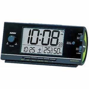 セイコー 電波目覚まし時計 NR534K (黒)の関連商品1