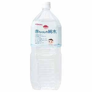 和光堂 「ベビーのじかん」赤ちゃんの純水 2L アカチヤンノ...