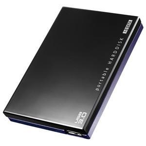 I・O・DATA ポータブルHDD 「USB3.0・1TB」 HDPC‐UT1.0KE (ブラック)