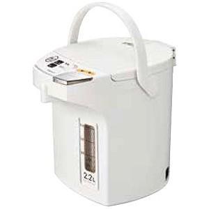 ピーコック 電動給湯式電気ポット (2.2L) WMJ−22−W ホワイト