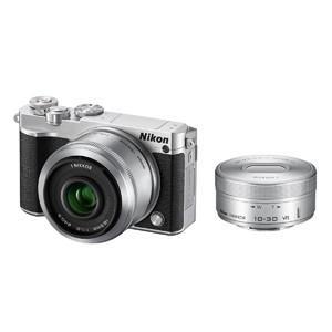 ニコン ミラーレス一眼カメラ Nikon 1 J5 ダブルレンズキット J5WLKSL(シルバー) y-kojima