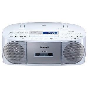 東芝 「ワイドFM対応」CDラジオカセットレコー...の商品画像