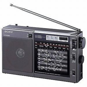 ソニー FM/ラジオNIKKEI/AMポータブルラジオ ICF‐EX5MK2