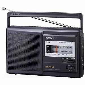 ソニー FM/AMポータブルラジオ ICF‐29