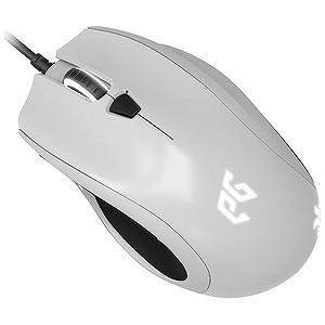 有線IR LEDゲーミングマウス「USB 1.8m・Win」CYCLOPS X(7ボタン) EGMCYX‐BWOW‐AMSG (ホワイト)