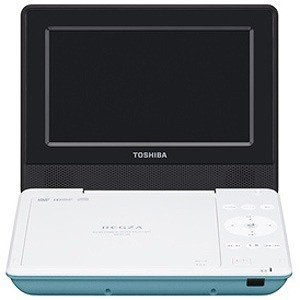 東芝 ポータブルDVDプレーヤー SD‐P710S‐G (グリーン)