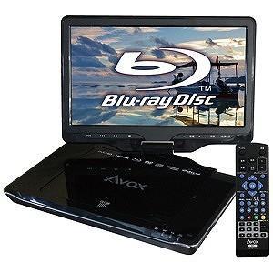 AVOX 10インチ ポータブルブルーレイディスクプレーヤー APBD‐1080HK|y-kojima