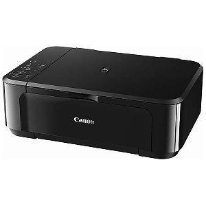 Canon A4インクジェット複合機「USB2.0/無線LAN」 PIXUS MG3630BK (ブラック)