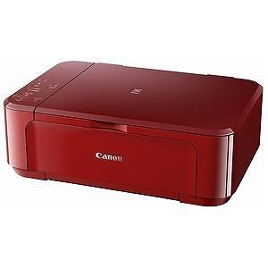 Canon A4インクジェット複合機「USB2.0/無線LAN」 PIXUS MG3630RD (レッド)