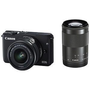 Canon EOS M10「ダブルズームキット」(ブラック/ミラーレス一眼) EOSM10BKWZK