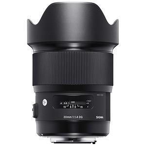 シグマ 交換レンズ 20mm F1.4 DG HSM Art「ニコンFマウント」