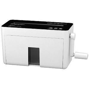 アスカ マイクロカットハンドシュレッダー(A4サイズ) HM02W(ホワイト)|y-kojima