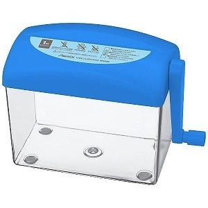 アスカ ハンドシュレッダー Asmix ブルー/ピンク [ストレートカット/はがきサイズ] HS50