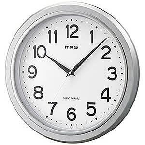 掛け時計「モアマグ」(シルバー) W−648SM−Z...
