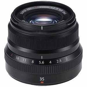 富士フイルム 交換レンズ 「FUJIFILM Xマウント」 XF35mmF2 R WR (ブラック)