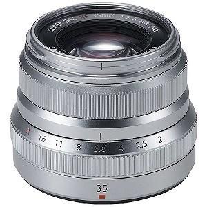 富士フイルム 交換レンズ 「FUJIFILM Xマウント」 XF35mmF2 R WR (シルバー)