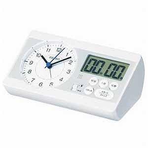 セイコー 目覚まし時計 「セイコースタディタイム」 KR893W