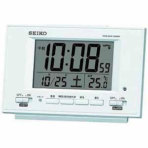 セイコー 電波目覚まし時計 SQ778Wの関連商品3