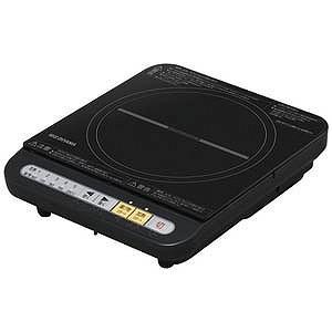 アイリスオーヤマ 卓上型IH調理器 (1口) IHKT34B(B|y-kojima