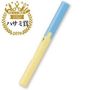 プラス [はさみ] フィットカットカーブ Twiggy(ツイッギー) SC−130P ソーダ×レモン