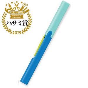 プラス [はさみ] フィットカットカーブ Twiggy(ツイッギー) SC−130P ブルー
