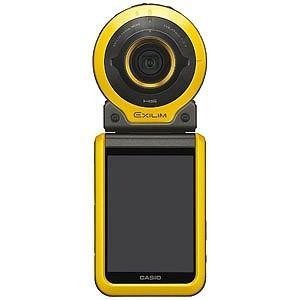 CASIO コンパクトデジタルカメラ アウトドアレコーダー EXILIM(エクシリム) EX‐FR100(イエロー)