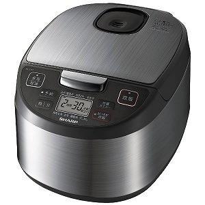 シャープ SHARP 炊飯器 [5.5合/マイコン] KS‐S10J‐S (シルバー)