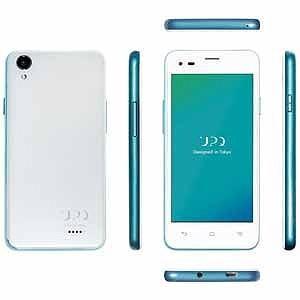 UPQ UPQ Phone A01X Android 5.1・4.5型SIMフリースマートフォン QASP001WHX (ホワイト)