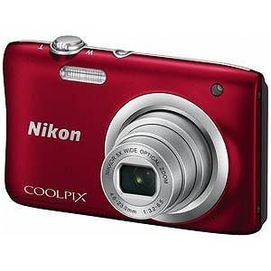 ニコン コンパクトデジタルカメラ COOLPIX(クールピクス) A100 (レッド))|y-kojima