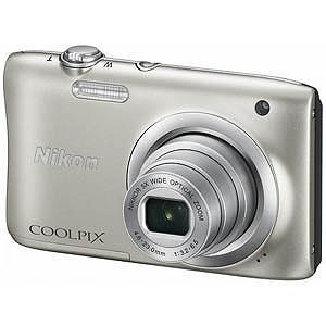 ニコン コンパクトデジタルカメラ COOLPIX(クールピクス) A100 (シルバー)|y-kojima