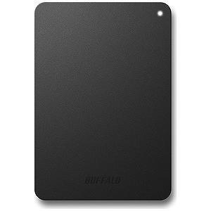 バッファロー ポータブルHDD 1TB HD‐PNF1.0U3‐BBD (ブラック)