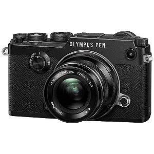 オリンパス ミラーレス一眼カメラ PEN‐F 12mmF2.0 レンズキット (ブラック)...