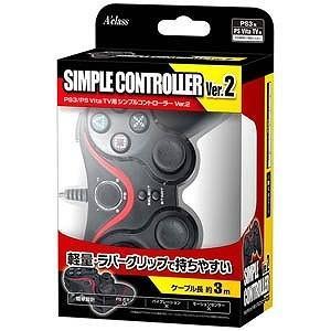 PS3/PS Vita TV用シンプルコントローラーVer.2「PS3/Vita TV」 PS3シンプルコントローラー2(SAS
