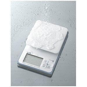 タニタ クッキングスケール 「洗えるデジタルキッチンスケール(2kg)」 KW−220−WH