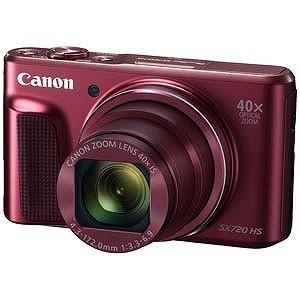 Canon コンパクトデジタルカメラ PowerShot(パワーショット) SX720 HS (レッ...