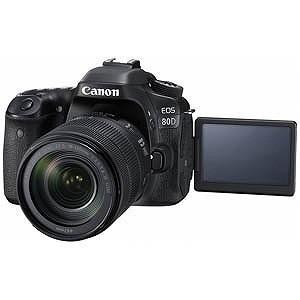 Canon デジタル一眼レフ EOS 80D「EF−S 18−135 IS USM レンズキット」 ...