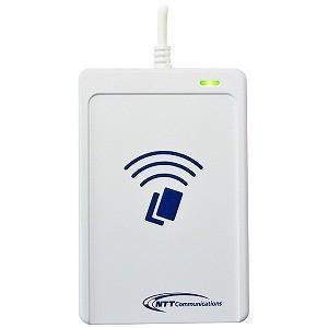 NTTコミュニケーション ICカードリーダライタ 非接触型 USBタイプ(Win&Mac版) ACR1251CL