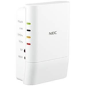 NEC 無線LAN中継機(11ac/n/a 867Mbps+11n/g/b 300Mbps) PAW1200EX|y-kojima