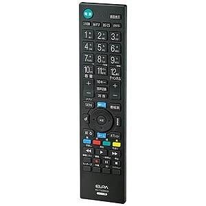 エルパ 地上デジタル用テレビリモコン(ソニー用) RC‐TV009SO