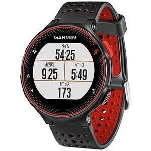 ガーミン GPSマルチスポーツウォッチ 「ForeAthlete235J」 37176H(BlackRed)