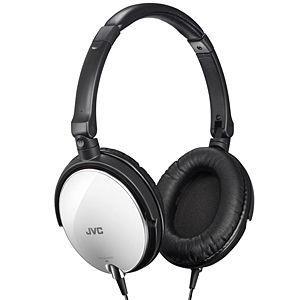 JVC・ビクター ヘッドバンド式ポータブルヘッドホン HA‐S600(W)(ホワイト)