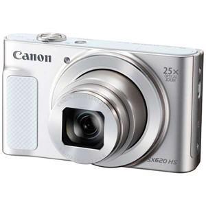 Canon コンパクトデジタルカメラ PowerShot(パワーショット) SX620 HS(WH)...