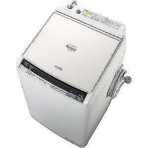 日立 縦型洗濯乾燥機 (洗濯8.0 kg/乾燥4.5 kg)...