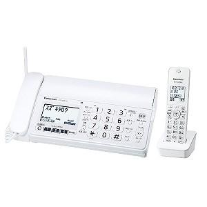 パナソニック 「子機1台」デジタルコードレス普通紙FAX 「おたっくす」 KX‐PZ200DL‐W (ホワイト)|y-kojima