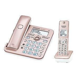 パナソニック 「子機1台」デジタルコードレス留守番電話機 「RU・RU・RU(ル・ル・ル)」 VE−GZ50DL−N (ピンクゴールド) y-kojima