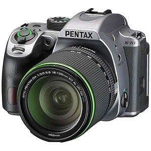 リコー PENTAX K−70【18−135WR レンズキット】(シルキーシルバー) K70レンズキ...