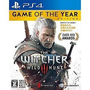 スパイク・チュンソフト PS4ゲームソフト ウィッチャー3 ワイルドハント ゲームオブザイヤーエディ...