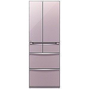 三菱 6ドア冷蔵庫(470L・フレンチドア)「置けるスマート...
